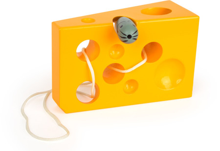 Cheese and Mouse Game - yellow